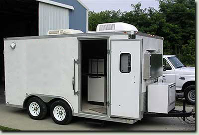 Mobile Lab Trailer for On Site Reading for a more Cost Effective Project